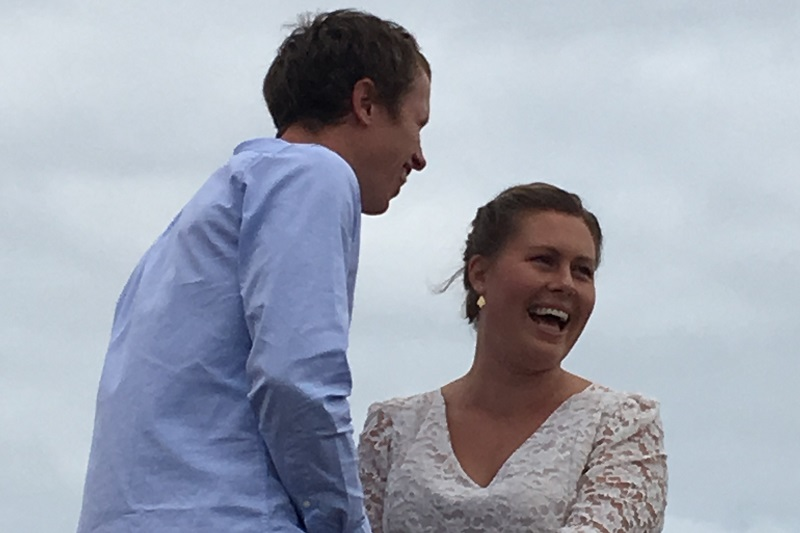 Zoe and Tom get Married